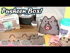 Video from the talented YouTuber             Pusheen Cat Subscription Box - Packed with Official Kawaii Merch!! - YouTube