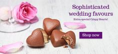 Sophisticated Favours from Lily O'Brien's Wedding Collections Chocolate Wedding Favors, Wedding Favours, Personalized Chocolate, Sophisticated Wedding, Personalized Wedding, Lily, Collections, Seasons, Fruit