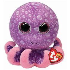 Ty Legs the Purple Octopus Beanie Boos Stuffed Plush Toy
