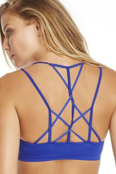 This bra will make you feel a little knotty. Its intricate, multi-strap back warrants a draped top to show it off.| Tribal Knot Bra - Fabletics