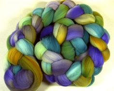 Elysium 2 Merino Wool Top for spinning and felting by yarnwench, $17.85