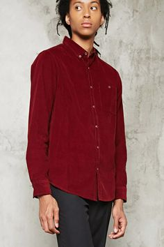 Product Name:Slim-Fit Corduroy Shirt, Category:CLEARANCE_ZERO, Price:19.9
