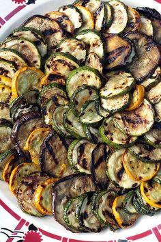 grilled vegetables with za'taar vinaigrette by David Lebovitz, via Flickr