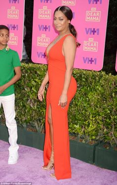 La La Anthony is surrounded by her loved ones as at Dear Mama special #dailymail