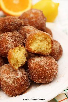 frittelle senza glutine, fritole, pączki włoskie, mini pączki, pączki bez glutenu, gluten free doughnuts, italian doughnuts, włoskie pączki bez glutenu,
