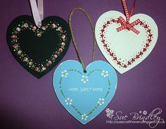Sue's Craft Haven: Folk It Hearts! A lovely review of our kits from Sue!
