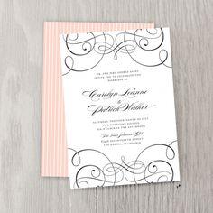 Parisian Wedding Invitations