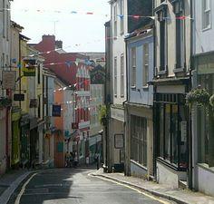 The High Street, Falmouth Falmouth Cornwall, West Cornwall, Devon And Cornwall, Cornwall England, Scotland Tours, South West Coast Path, Visit Uk, Rock Pools, British Isles