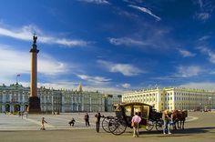 Санкт-Петербург. Веб-камера Дворцовая площадь (со звуком)