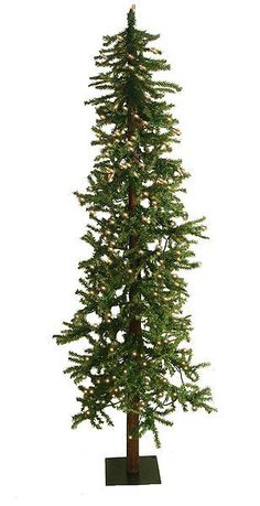 Best  u Green Artificial Christmas Tree with LED Clear Lights with Stand