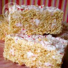 Marshmallow Rice Krispie treats @ allrecipes.co.uk