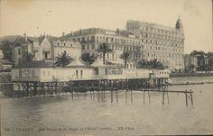 Des bains de mer aux plages de la Croisette - Expositions virtuelles historiques des Archives de la ville de Cannes