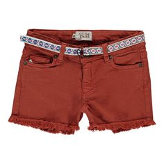 Sunchild Praslin Belt Denim Shorts-product