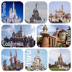 21. See Every Disney Castle