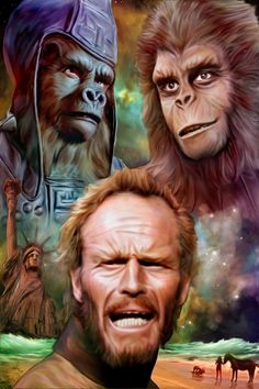 Charlton Heston Planet of the Apes