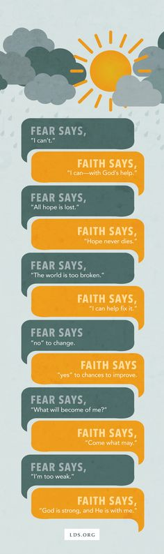 Faith Over Fear: Why