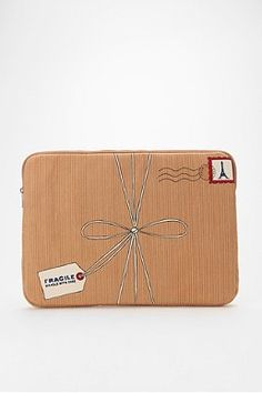 Urban Outfitters--Trompe L'Oeil Laptop Case.  Too cute!