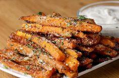 """Möhren-""""Pommes"""" sind mega einfach zuzubereiten und voll lecker"""