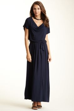 Loveappella Draped Front Ruched Back Dress- 6 colors