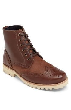 Free shipping and returns on Dr. Scholl's Original Collection 'Opus' Wingtip Boot at Nordstrom.com. Brogue panels add classic charm to a handsome boot crafted from panels of leather and suede and fitted with a Dr. Scholl's Original Collection insole for comfort.