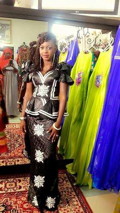 Ebeno couture #bazin #Africa #senegalais