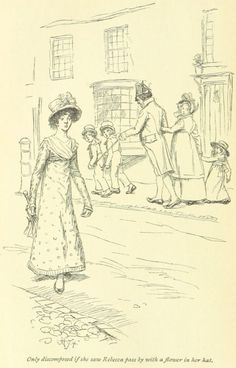 Jane Austen Mansfield Park - only discomposed if she saw Rebecca pass by with a flower in her hat Jane Austen Mansfield Park, Jane Austen Books, Romance, Classic Literature, British Library, Book Illustration, 18th Century, Book Art, Books To Read