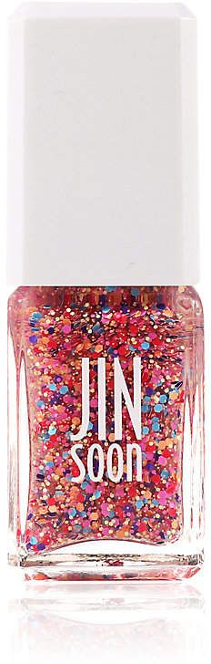 From the JINsoon Neo-Pop Collection in collaboration with Korean pop artist Hyang-Sook, JINsoon's Fab nail lacquer yields a pop art-inspired, Andy Warhol-like r