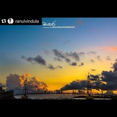 Picturesque horizon captured by @ranulvindula  @stockphotolk finds this user's creative content quite inspiring! Reposted by @stockphotolk  We invite you to share your photographs with #stockphotolk  Sign up on www.stockphoto.lk for free and convert your creativity into revenue! .   #colurful #evening #sky #mycity #matara #beach #srilanka #perfect #edit #lightroom #landscapeshoot #newimage #nikonlife #nikkor85mm #landscape_lovers #natural #landscape #beuatifulsky #brighten #iamnikon