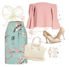 """""""insp #3"""" by tatyana-belchonok on Polyvore featuring Topshop, Karen Millen, Givenchy and Anne Klein"""