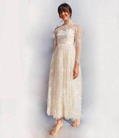1b519edaac21e Vintage Long Sleeve Boho Wedding Dress. This absolutely stunning vintage  lace wedding dress is so. Ada s Attic Vintage