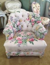 Rose Print Chair