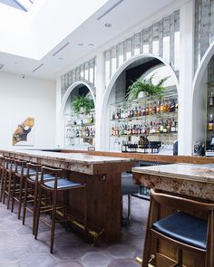 Honey's | Wallpaper* Luxury Restaurant, Restaurant Lounge, Modern Restaurant, Bar Lounge, Restaurant Offers, Bar Interior, Restaurant Interior Design, Cafe Bar, Italian Bar