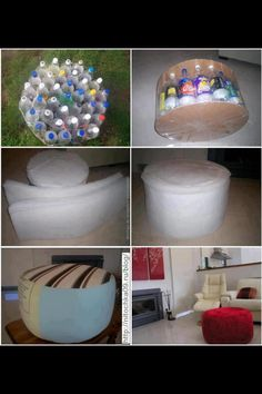 A fun interesting way to recycle. Ngwenya Glass believes that recycling is away of ensuring a beautiful future!