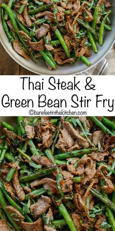 is ready in minutes with this Thai Steak Stir Fry! get the recipe at Dinner is ready in minutes with this Thai Steak Stir Fry! get the recipe at Steak Stirfry Recipes, Wok Recipes, Banting Recipes, Asian Recipes, Cooking Recipes, Healthy Recipes, Tai Food Recipes, Thai Basil Recipes, Minute Steak Recipes