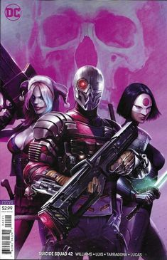Suicide Squad (DC Comics Francesco Mattina Cover B Variant NM Unread Dc Universe, Batman Universe, Comic Villains, Dc Comics Characters, Fanart, Comic Books Art, Comic Art, Book Art, Comic Movies