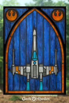 Stained Glass Window Clings, Stained Glass Windows, Stained Glass Patterns, Stained Glass Art, Glass Art Design, Glass Artwork, Geek Culture, Magic The Gathering, White Ink