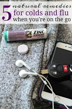 When you're on the go, cold and flu symptoms can seem even worse. Here's 5 natural cold and flu relief ideas that will help you feel better.