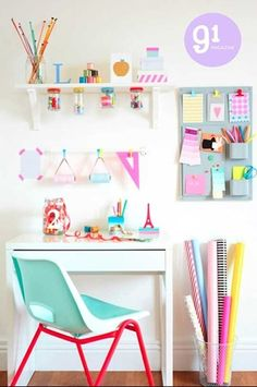 Cute craft room