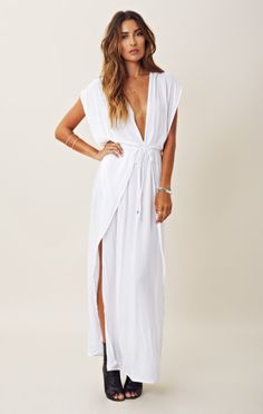 gettinfitt.com white-maxi-sundress-10 #sundresses