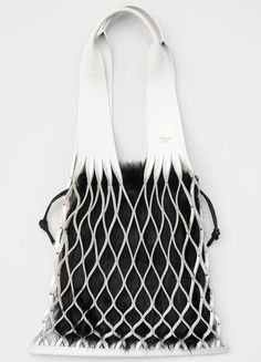 Medium Net Bag Bag in Calfskin - Céline