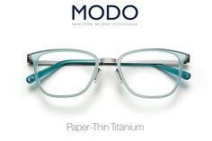 MODO Eyewear #paperthin #modoeyewear www.statestreeteye.com