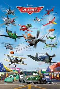 print a disney planes poster Disney Cars, Walt Disney Co, Disney Movies, Disney Pixar, Disney Planes Characters, Planes Movie, Planes Party, Poster Disney, Cartoon Plane