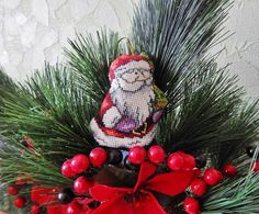 Christmas decoration,hristmas ornament,A toy, Toy Christmas, Embroidered toy, Christmas decorations, gift