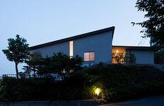 木原千利設計工房:片流の家