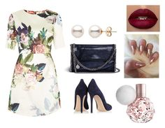 """""""cute outfit"""" by kaja-232 ❤ liked on Polyvore featuring Topshop, Gianvito Rossi, STELLA McCARTNEY, sweet and dress"""