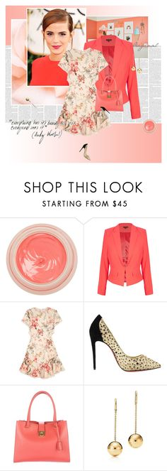 """Emma Watson"" by stephaniee90 ❤ liked on Polyvore featuring Emma Watson, By Terry, City Chic, Zimmermann, Christian Louboutin and Salvatore Ferragamo"