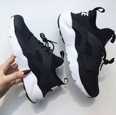 shoes nike adidas jordans black white