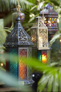 Multicolored Lantern Inspiration.