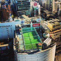 Roof Top Football, Shibuya