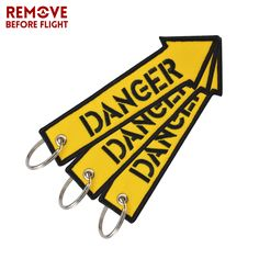 Find More Key Chains Information about Remove Before Flight Fashion Key Chain Keychain for Motorcycles and Cars Key Tag Embroidery DANGER Key Fob OEM Keychain 3PCS/LOT,High Quality fashion keychain,China keychain fashion Suppliers, Cheap keychain for motorcycle from REMOVE BEFORE FLIGHT Official Store on Aliexpress.com